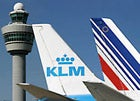 KLM aircraft tail